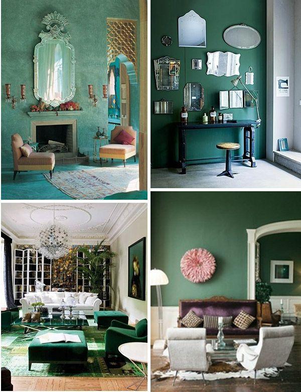 Bildergebnis für küche smaragd grün  HOME  Pinterest - wohnzimmer tapete grun