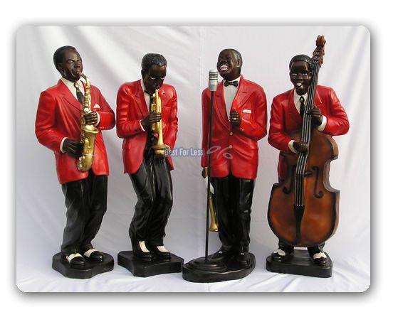 Jazz Musiker Saxophon Alto Skulptur Figur Kollektion *Le monde du Jazz*  20045G