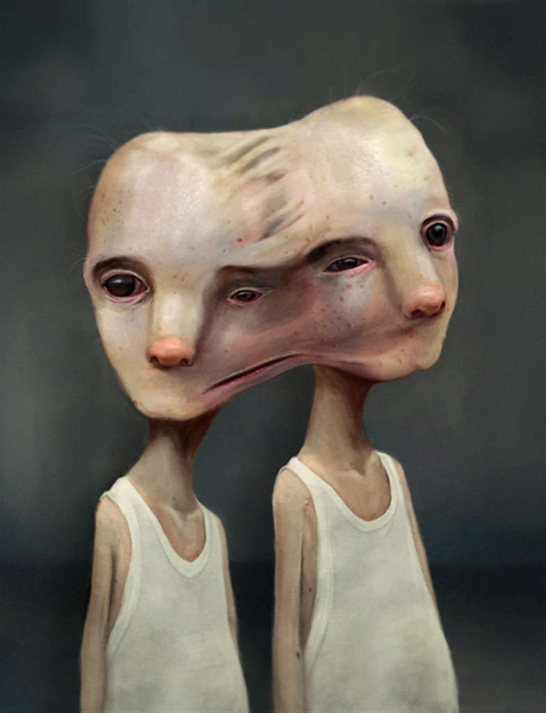 Mark Ryden Pop Surrealism | Roby Dwi Antono's Macabre Art Portrays Children in a Fantasy L