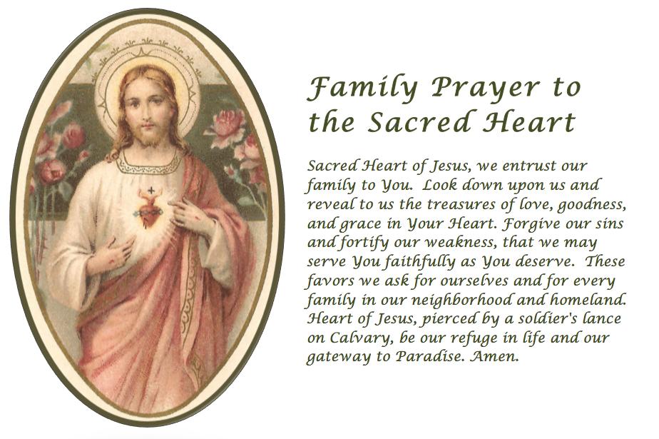 Sacred Heart Novena Prayers
