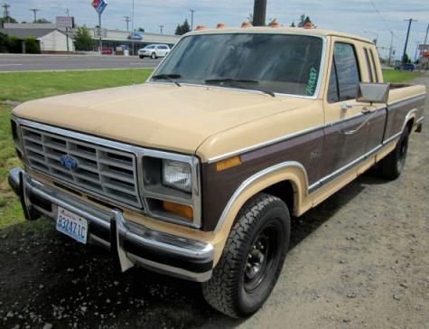 Cheap Truck Under 1000 Used Ford F 250 82 Supercab In Wa