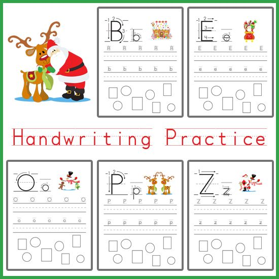 handwriting practice christmas themed handwriting practice writing practice and homeschool. Black Bedroom Furniture Sets. Home Design Ideas