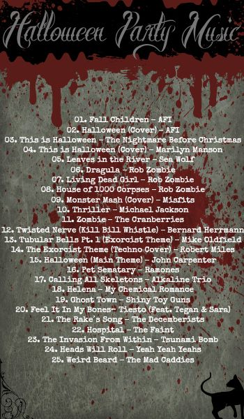 Halloween Party Music 25 Songs Halloween Party Music Halloween Mystery Halloween Playlist