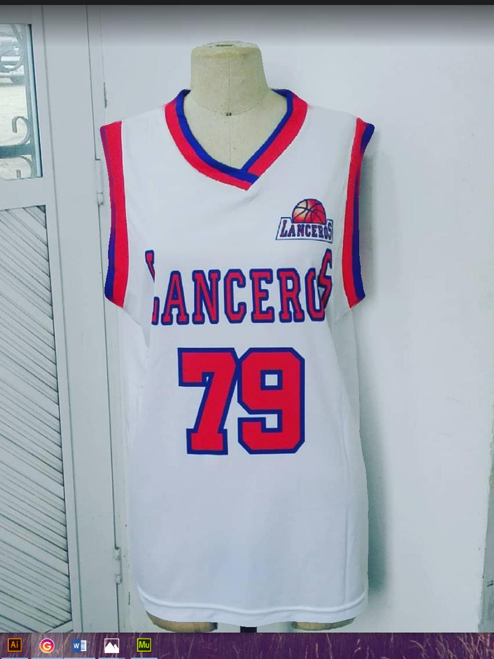 Lanceros Cartagena Uniformes de baloncesto, Cartagena