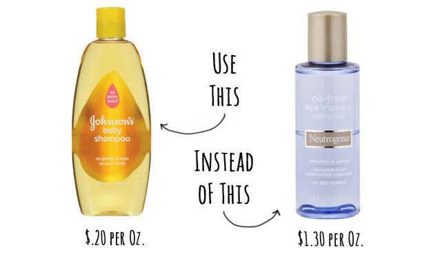 Johnson S No More Tears Baby Shampoo Makes A Great And Cheap