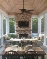 screened in porch with fireplace  screened  in  porch  screened  in  porch  with…