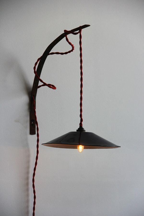 Love the idea of forging something to dangle a cool light onmaybe
