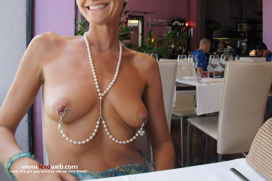 Extreme Pierced Boobs Nude 114