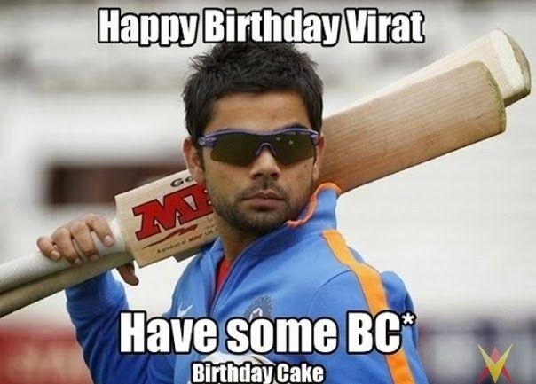 Happy Birthday Virat Quotes ~ Find the most viral pics of virat kohli virat kohli funny images