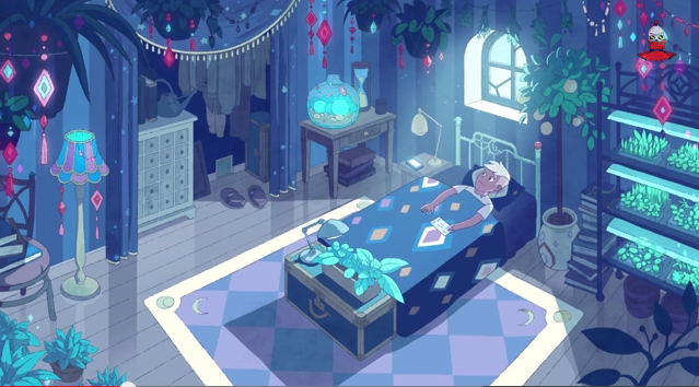 Deckard S Room From Bee And Puppycat Bee And Puppycat Bee Bravest Warriors