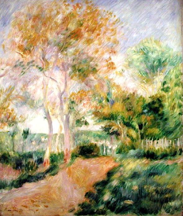 Summer by Pierre Auguste Renoir (France)