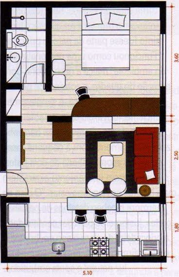 34 mts Wohnen Pinterest Tiny houses, Smallest house and House