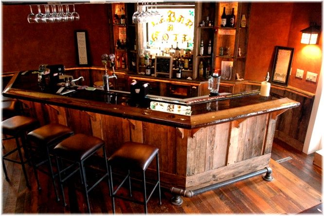 Custom Home Man Cave Basement Wet Bar Reclaimed Antique Wood Fully Equiped Man Cave Home Bar Man Cave Bar Bars For Home