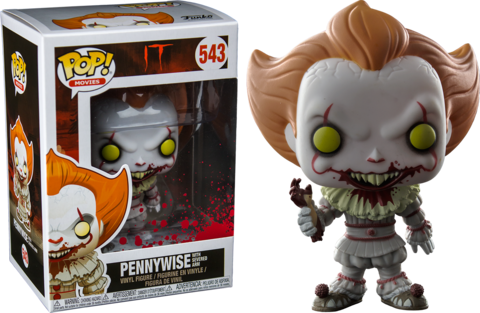 Multi Colore Funko POP IT 2017 Figura in vinile Pennywise con barca