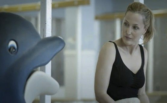 The Fall - Stella Gibson In her free time Stella talks to dolphins