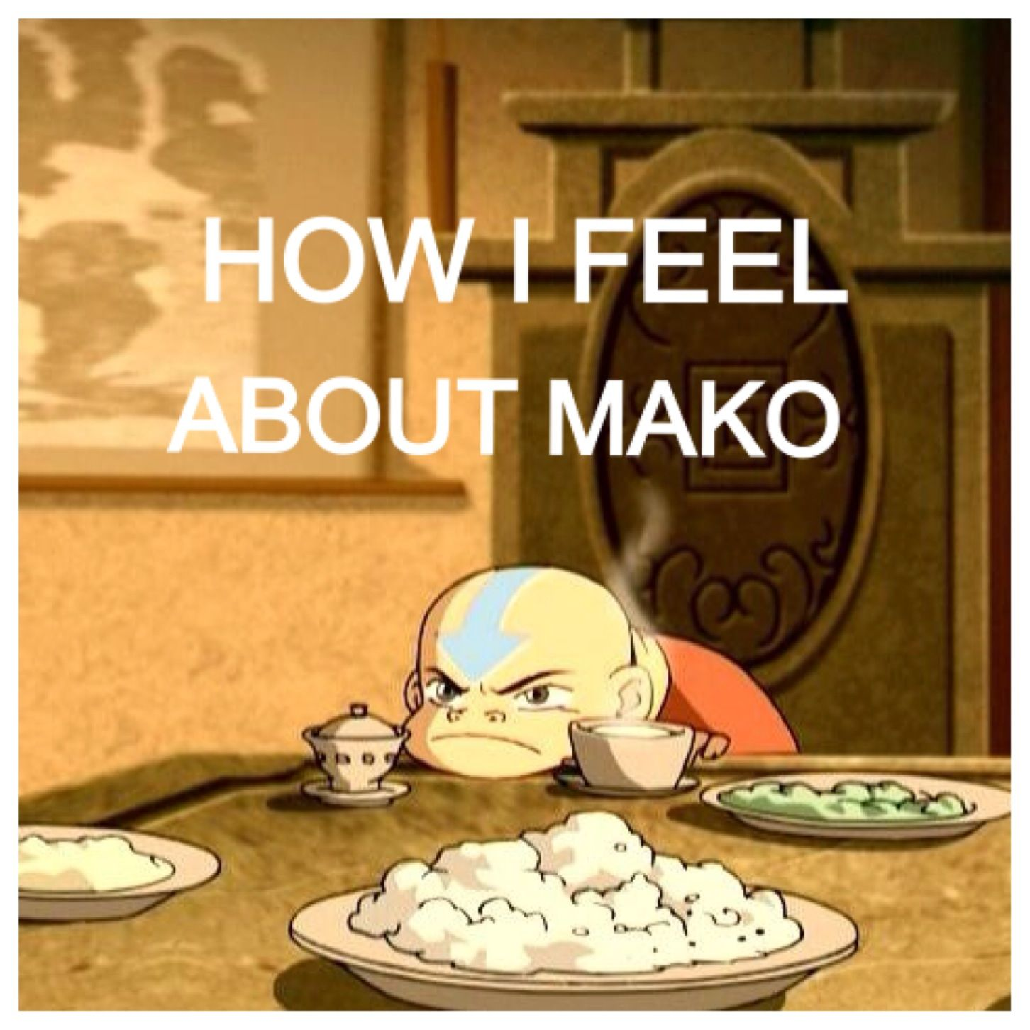 Yes. That is how i feel inside when watching mako with korra and/or asami