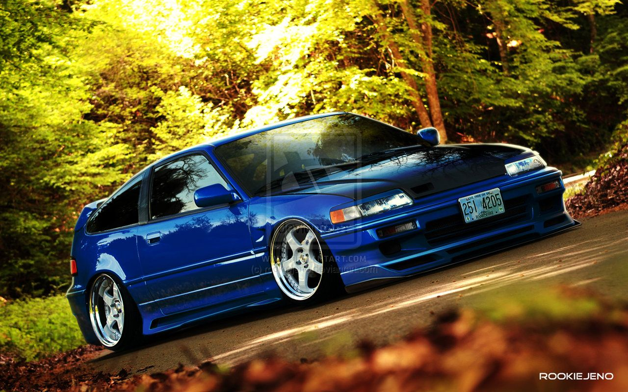 1991 honda crx si featured cars honda tuning magazine. Black Bedroom Furniture Sets. Home Design Ideas