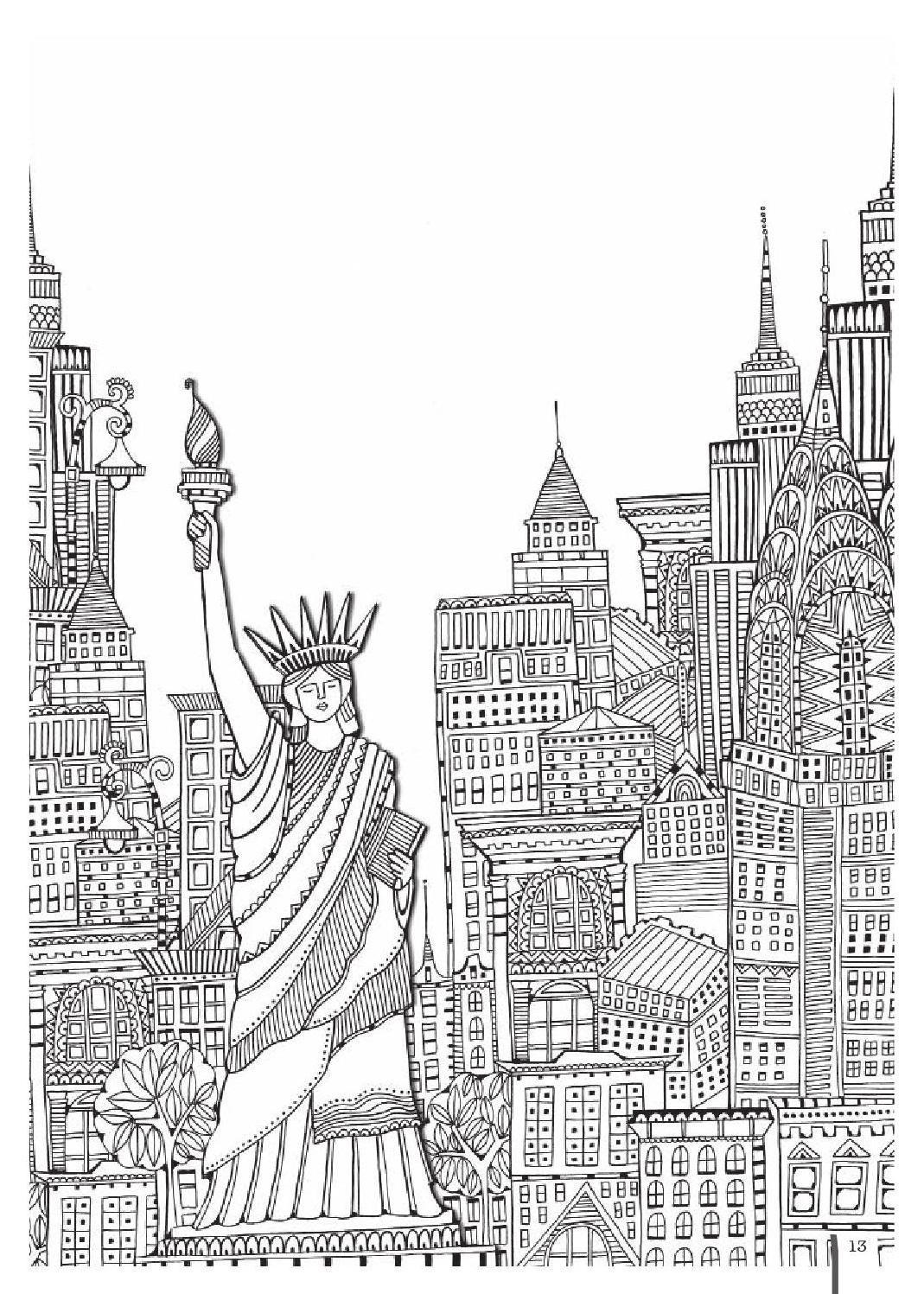 Coloring Pages Complex Desain Animasi 3d Animasi