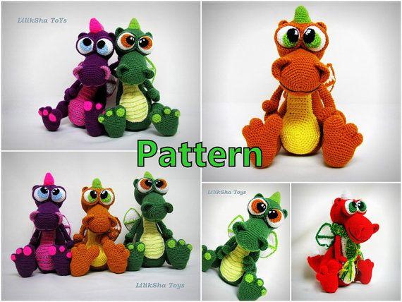 LilikSha Toys - Crochet toy Amigurumi Pattern - Atan, The ... | 428x570