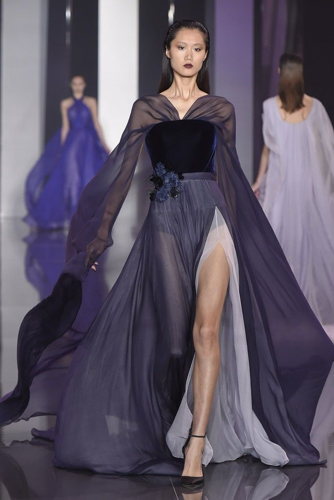 Ralph & Russo Fall 2014 Couture: Carrie Underwood (www.ifiwasastylist.blogspot.com)