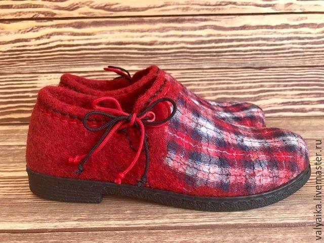 4e01cba501b91 Купить Туфли валяные в интернет магазине на Ярмарке Мастеров ...