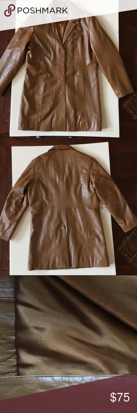 Vintage Excelled Leather Jacket Brown Large Leather Jacket Brown Leather Jacket Jackets [ 1740 x 580 Pixel ]
