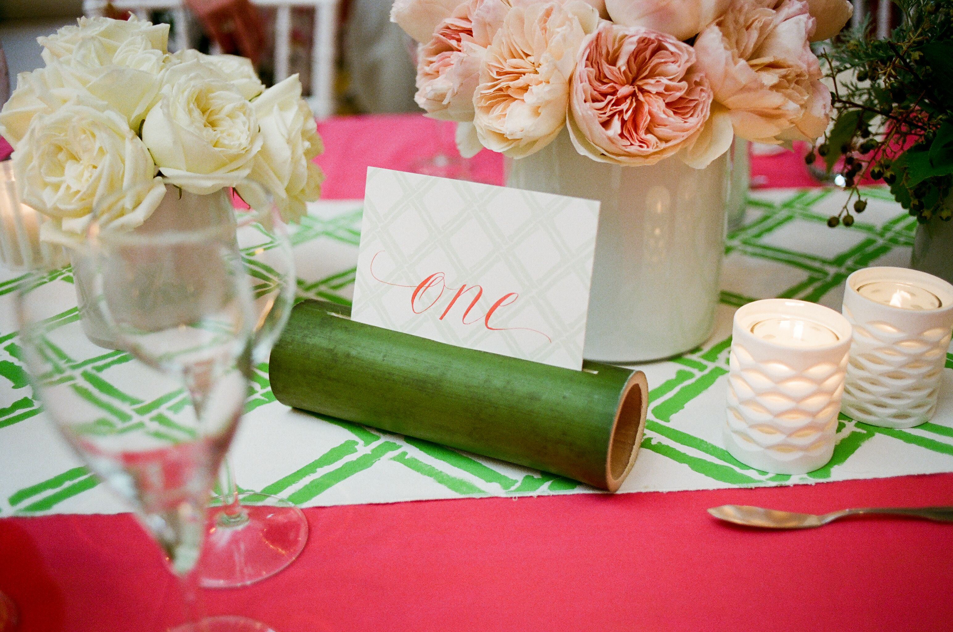bamboo table number holder|calder clark designs|a bryan photo | Wedding  decorations, Table top, Bamboo table