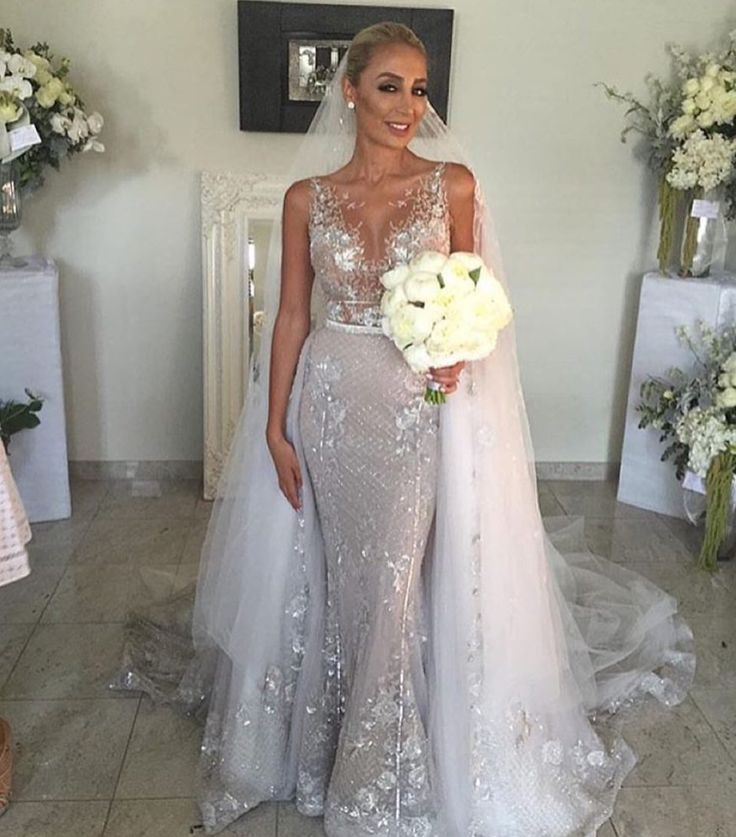 Beautiful Haute Couture Beaded Wedding Dresses For Less At Darius - Wedding Dress For Less