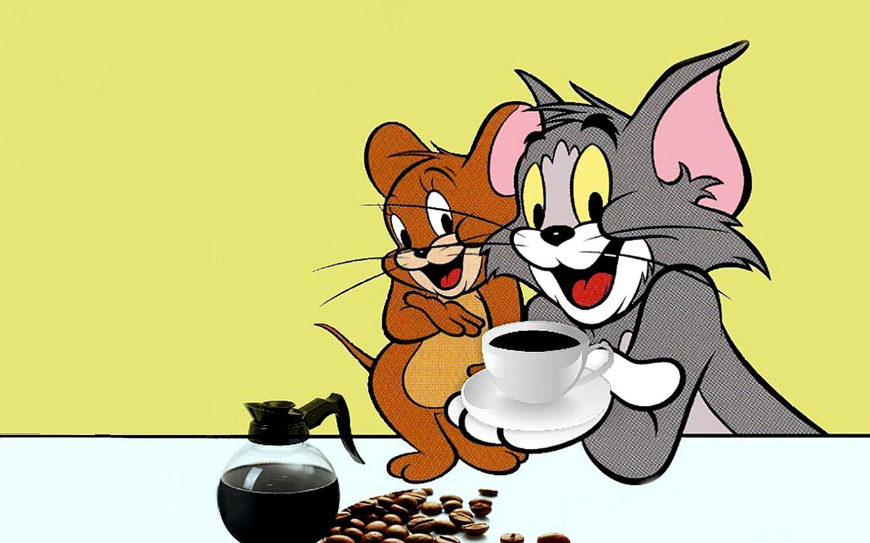 Tom And Jerry Cartoons Desktop Kaffeepause Bienen Und Kaffee