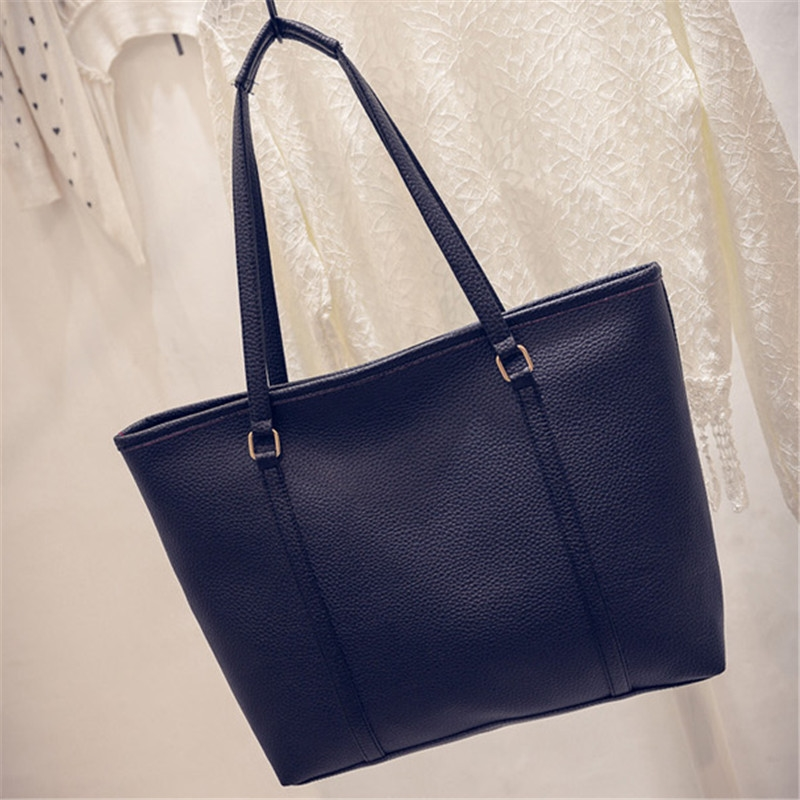 9.99$  Buy here - http://alitp4.shopchina.info/go.php?t=32773568072 - YBYT brand 2017 new simple PU leather winter totes women satchel hotsale ladies shopping handbags large capacity shoulder bags 9.99$ #buyonline
