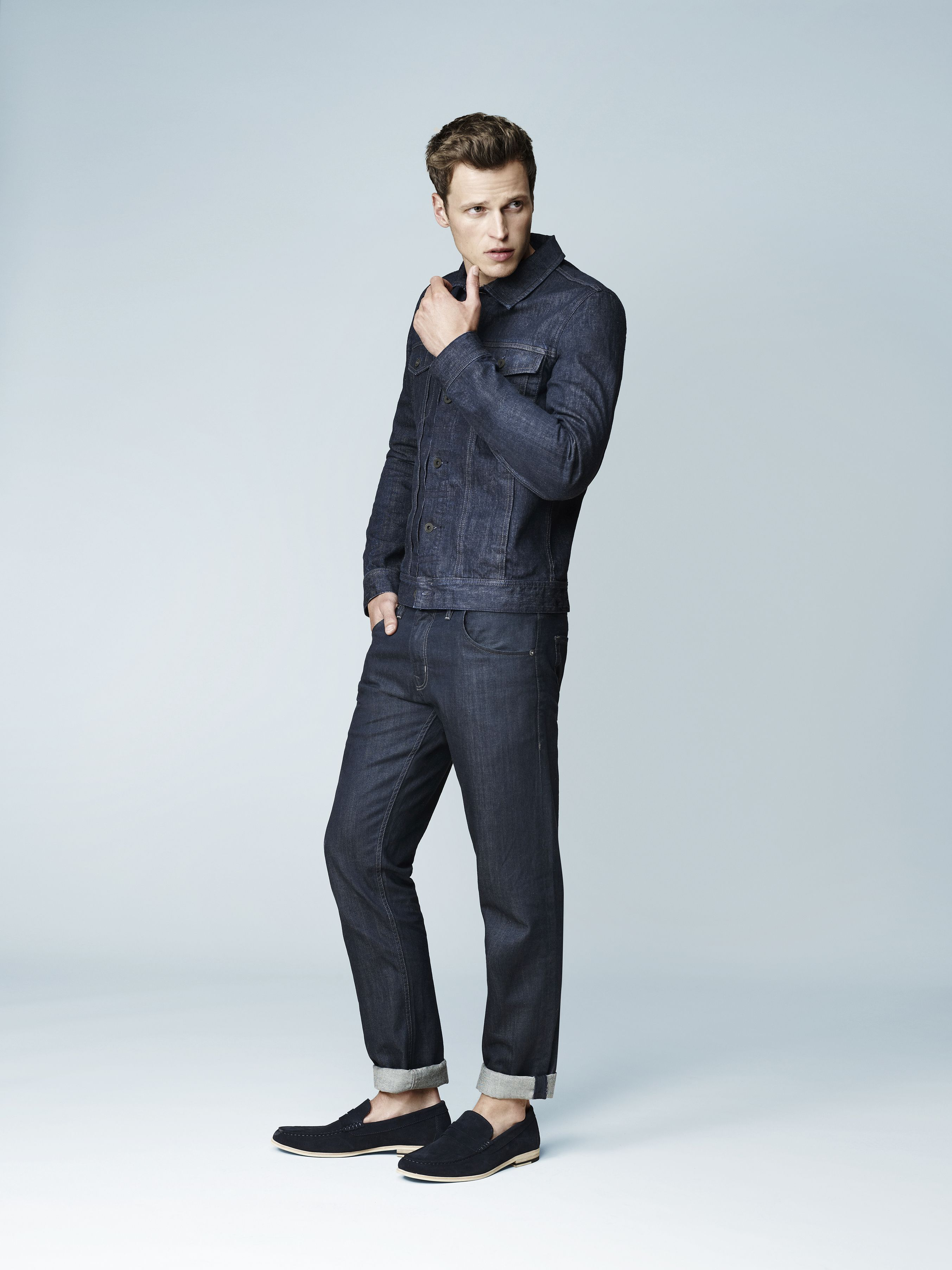 Love a man in a tux - Canadian tuxedo that is. Country Road Man Spring  Summer 2013. 97a76f6d80c