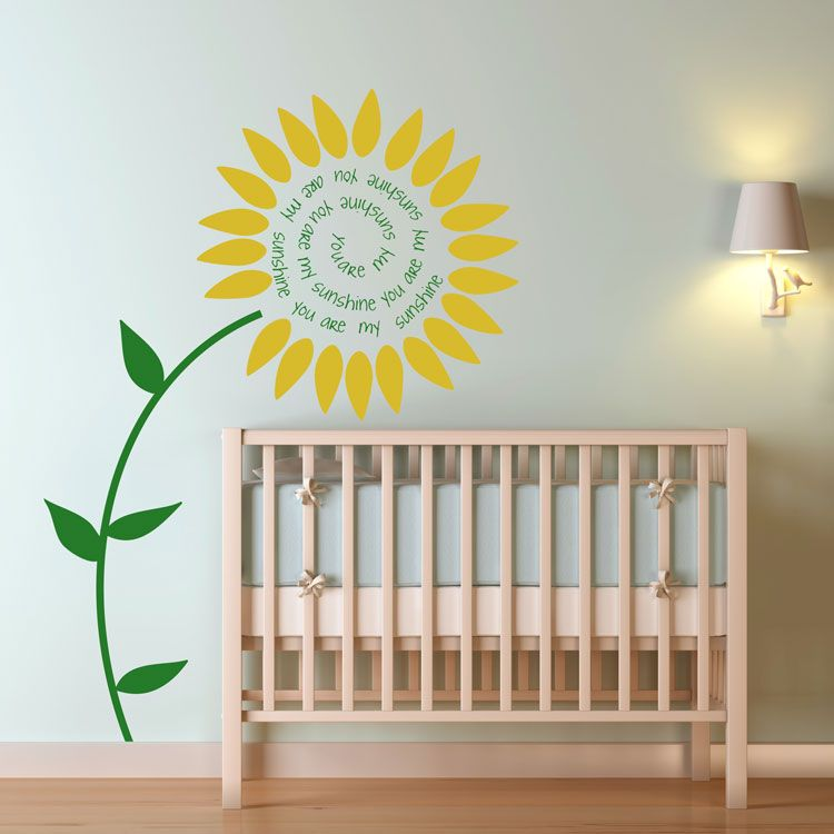 You Are My Sunshine   Wall Decals Stickers Graphics. Perfect For Your  Babies Room!