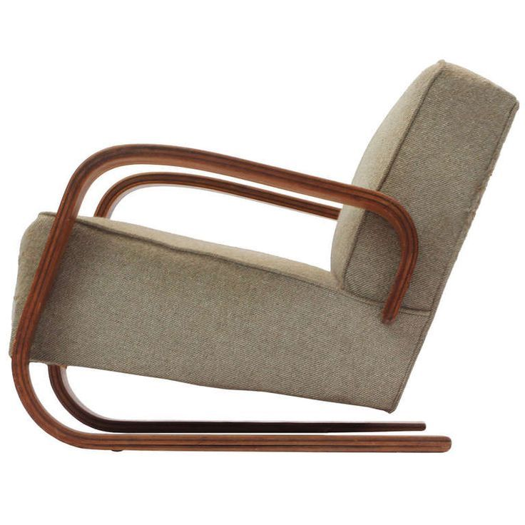 Alvar Aalto Tank Chair Side View DESIGN A CHAIR Pinterest