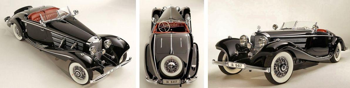 1936 Mercedes-Benz 540K Roaster