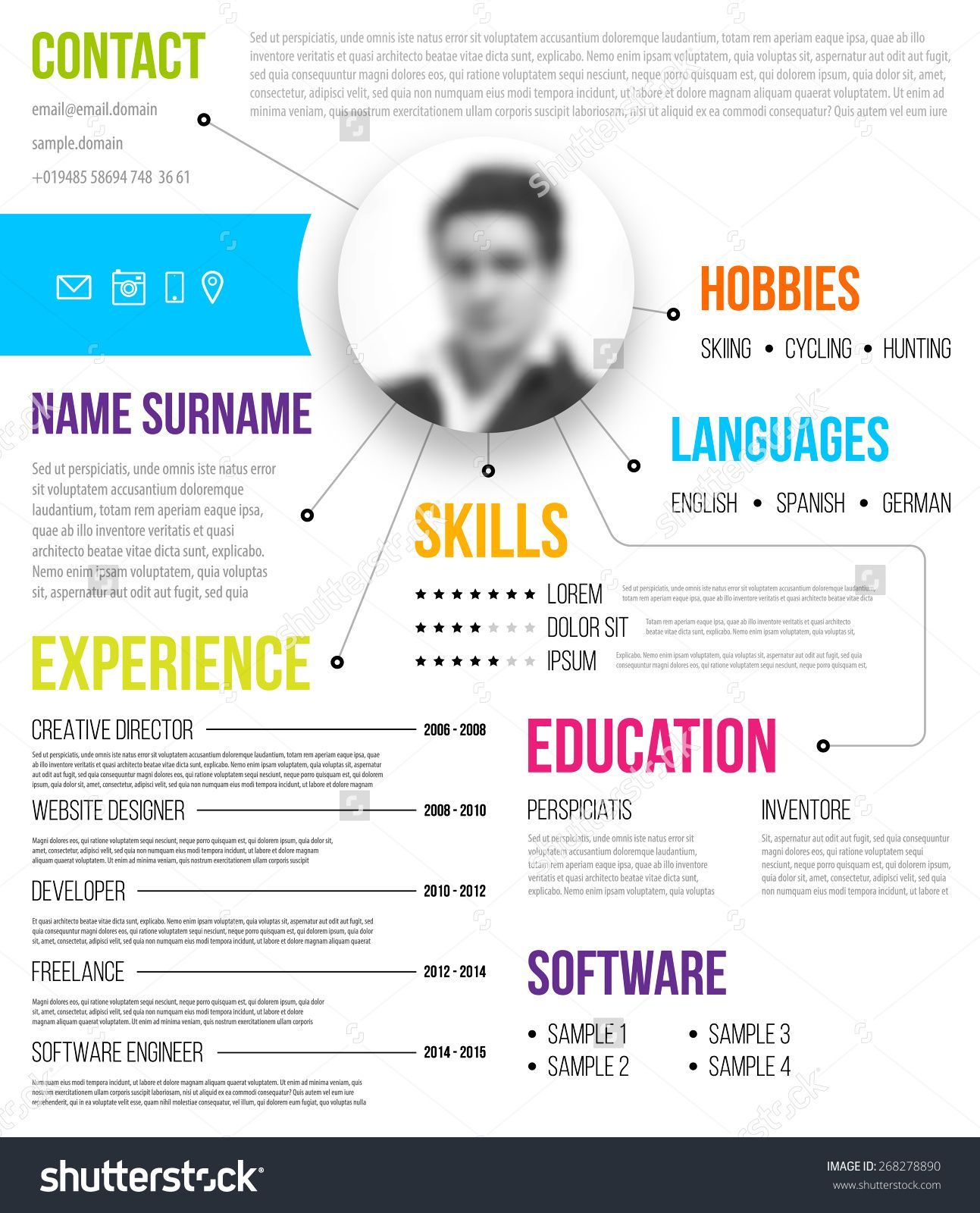 Template   Resume Templates    Template