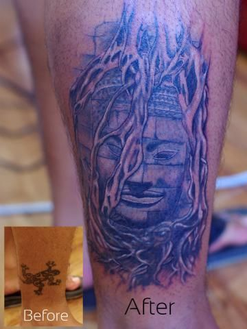 Pin By Unknown On Tattoos Khmer Tattoo Temple Tattoo Sleeve