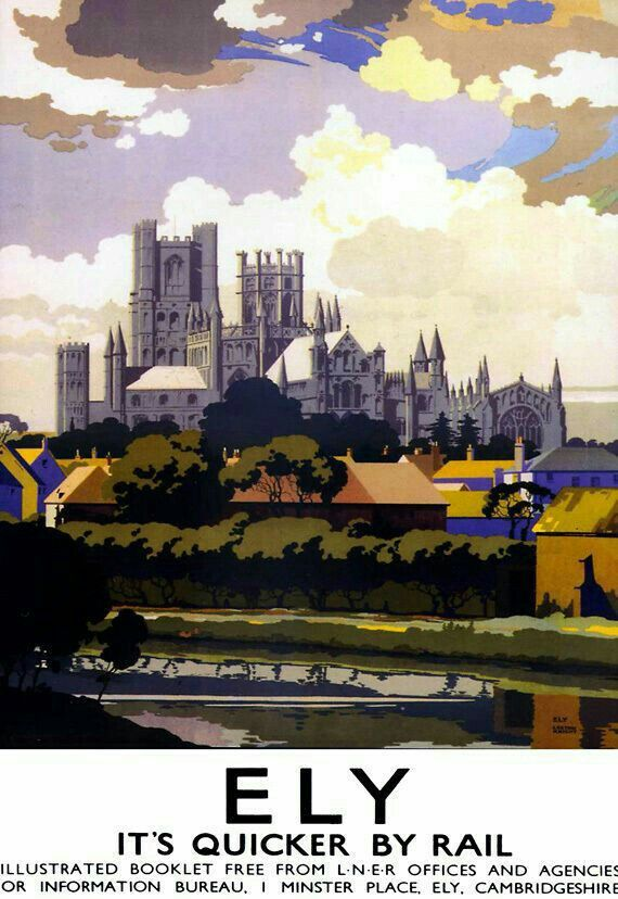 ART PRINT POSTER TRAVEL LINCOLN ENGLAND BRITISH RAILWAYS NOFL1109