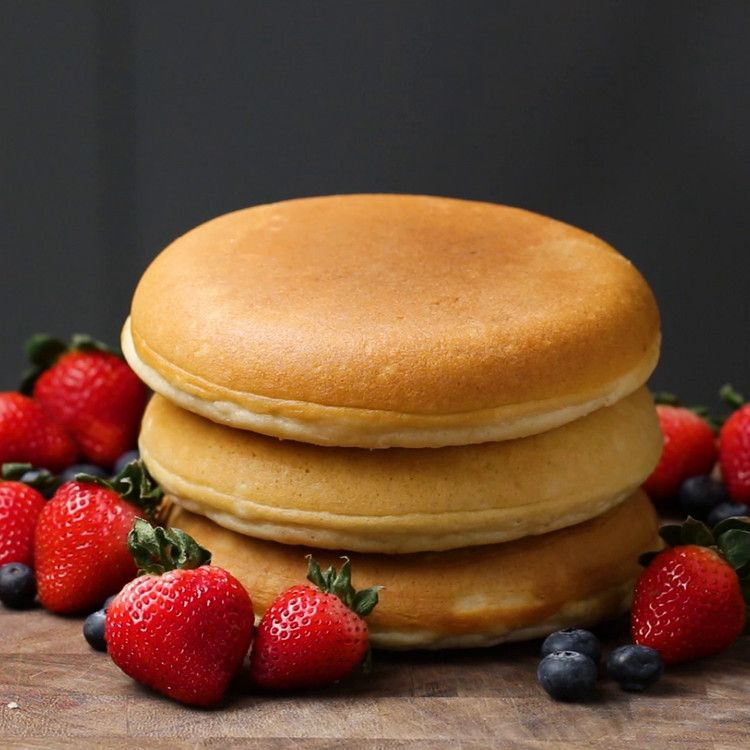 Perfect Fluffy Pancake Buzzfeed News Tasty Pancakes Yummy Food Cooking Recipes Desserts