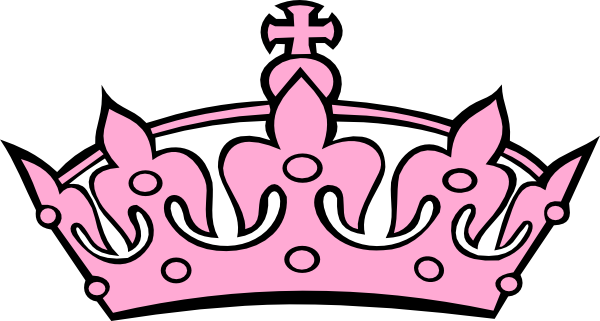 pink crown clip art cuppa with the queen by jeri taylor swade rh pinterest com pink sparkly crown clipart pink crown clip art free