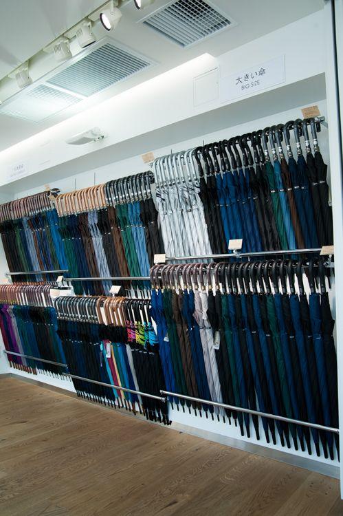 店内レポート 自由が丘に世界最大級の傘専門店 約1万本をラインナップ 傘 自由が丘 店内