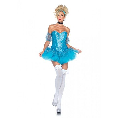 LA85025 Sexy Leg Avenue CINDERELLA Fancy Dress Costume