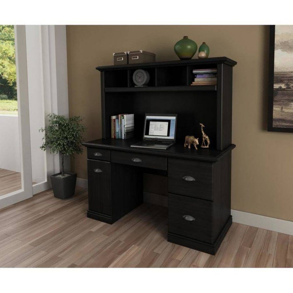 Attirant Better Homes And Gardens Computer Workstation Desk And Hutch Oak