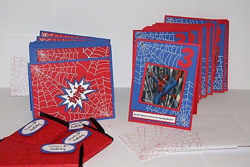 Spiderman party pinterest spiderman birthdays and birthday cute idea for spiderman invitationsthank yous solutioingenieria Gallery