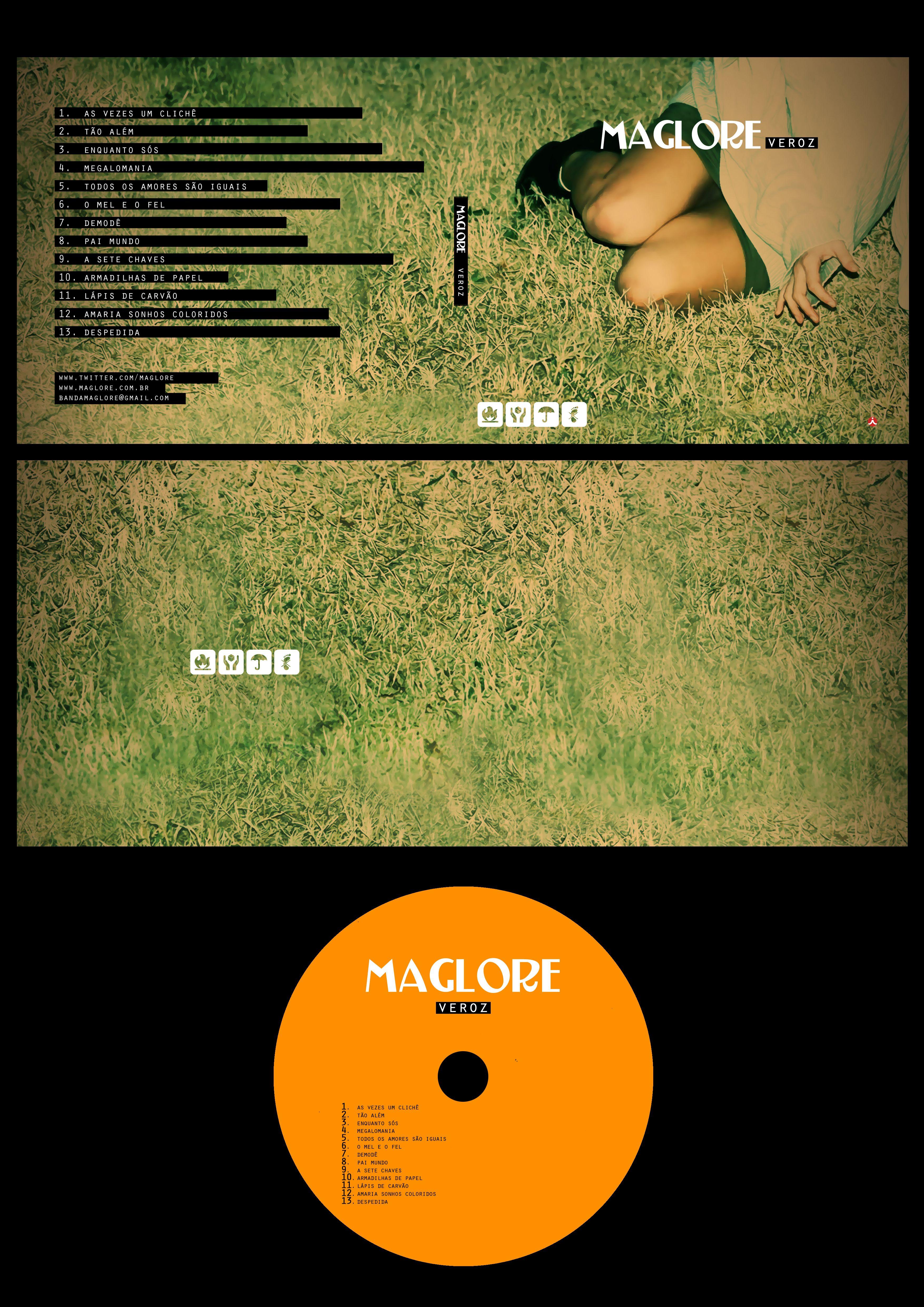 Arte para CD da banda MAGLORE