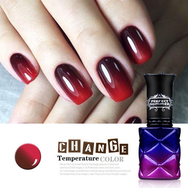 Termo gel uv color esmalte de uñas camaleón nail perfect summer ...