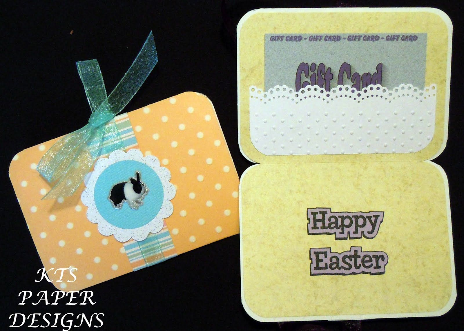 Kts paper designs fold open easter gift card holders easter gift kts paper designs fold open easter gift card holders negle Choice Image