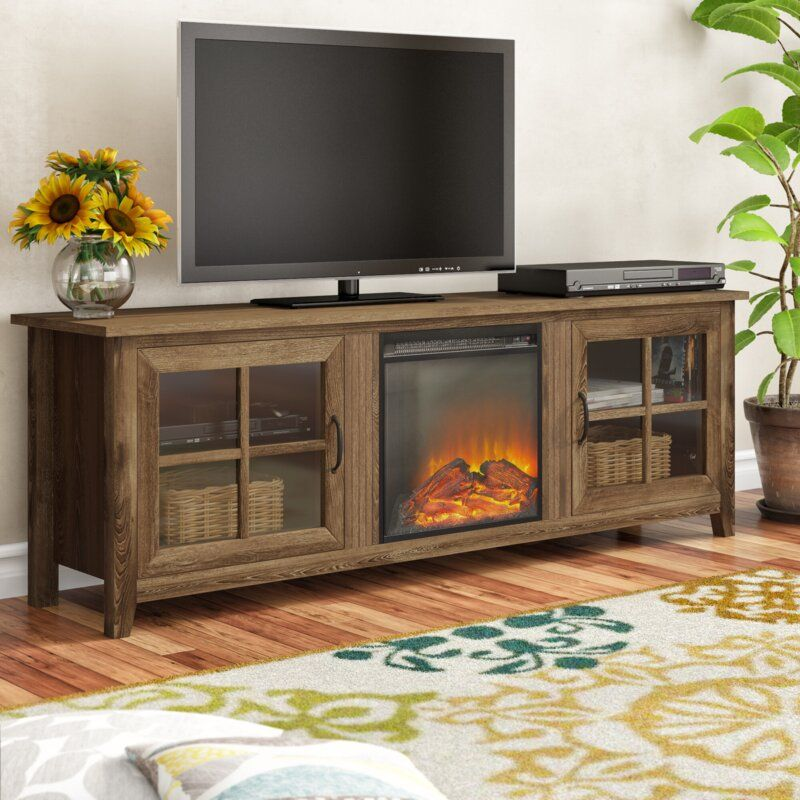 Murphey Tv Stand For Tvs Up To 78 With Electric Fireplace