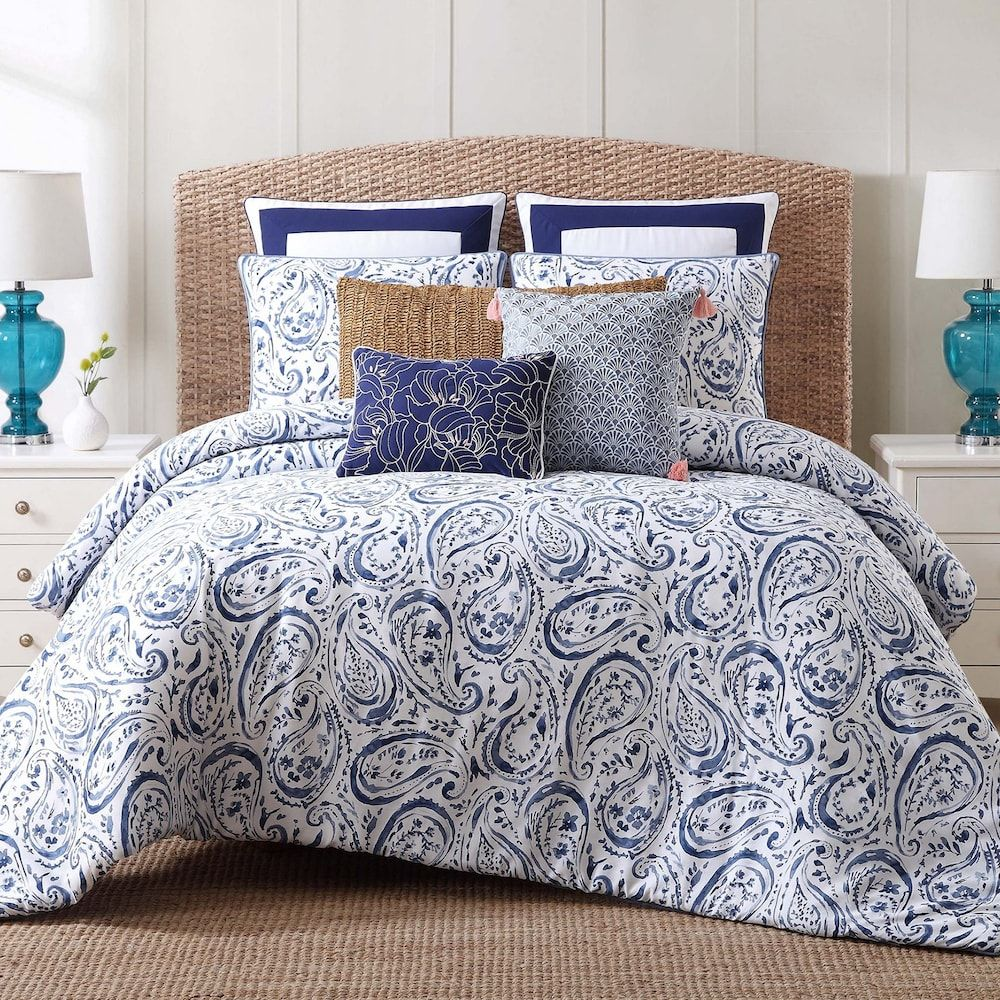 811b9d7f0493333d176244c39c475520 - Better Homes And Gardens Indigo Paisley Comforter Set