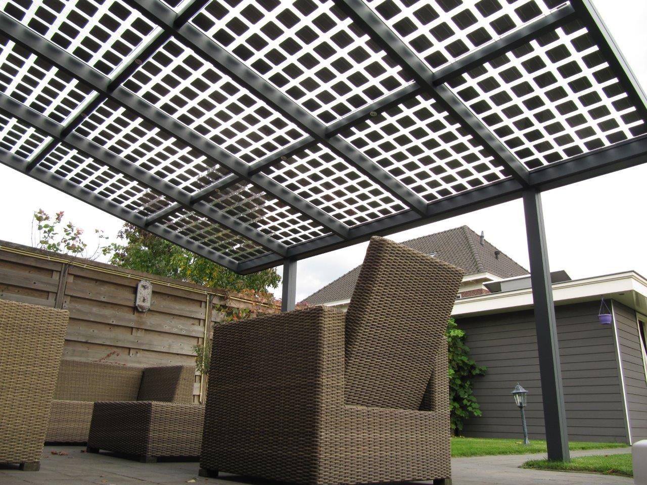 Veranda met zonnepanelen energie pinterest met en veranda 39 s - Veranda met dakpan ...