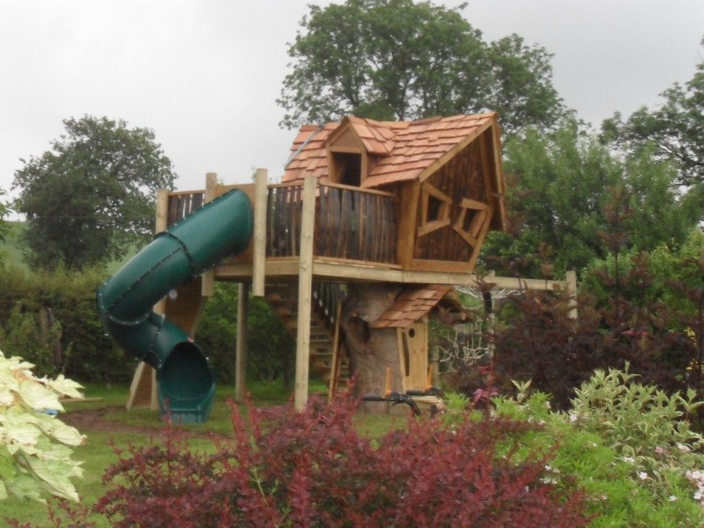 Unique Tree Houses Latest kids tree house | Great Treehouses or kids ...